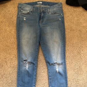 Mother jeans , ankle length